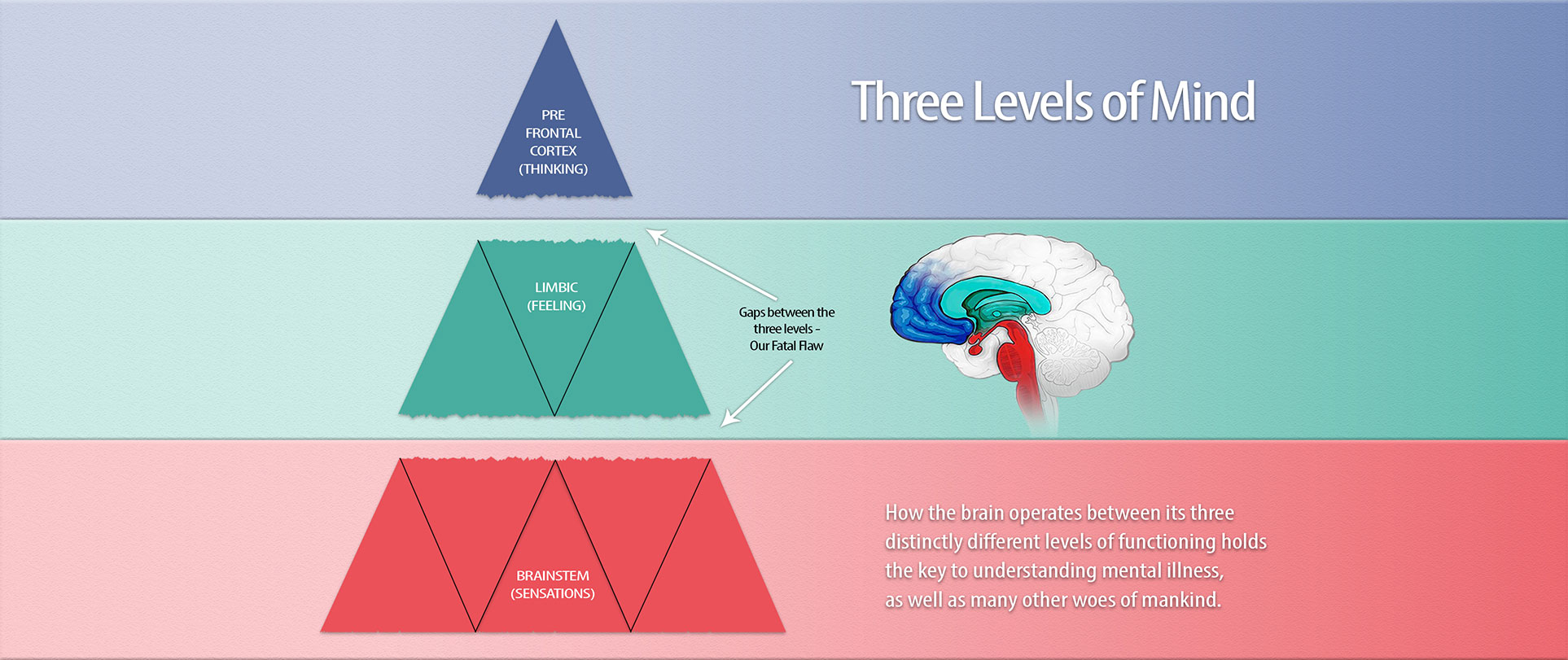 Three Levels of Mind